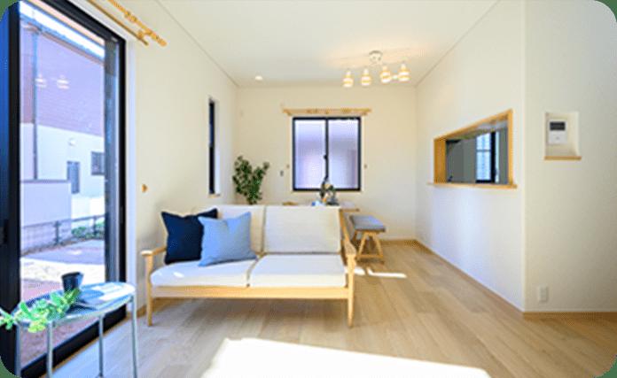 良質な家具でコーディネートされた部屋