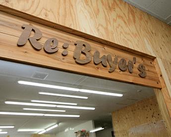 Re:バイヤーズの看板